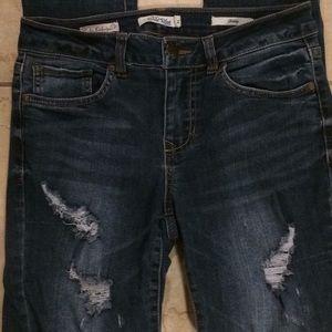 Sadie Robertson Wild Blue Skinny Jeans